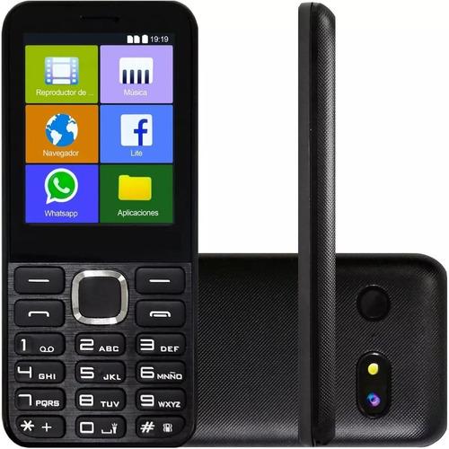 Telefono Celular Teclado Fisico Kanji Whastapp Bt Dual Sim