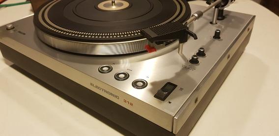 Toca Discos Philips G A-312 Aluminium Dc Servo Perfeito