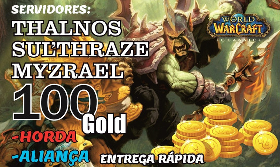 Gold Wow Classic Thalnos, Sul