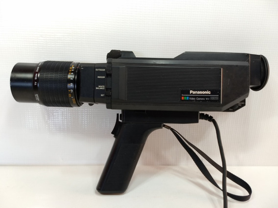 Antiga Câmera Filmadora Panasonic Wv-3060 1983 Retro Vintage