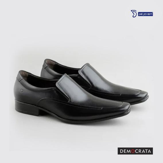 Sapato Democrata Em Couro 450053