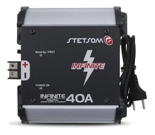 Cargador De Bateria Stetsom 40amp Mod Infinite 40a