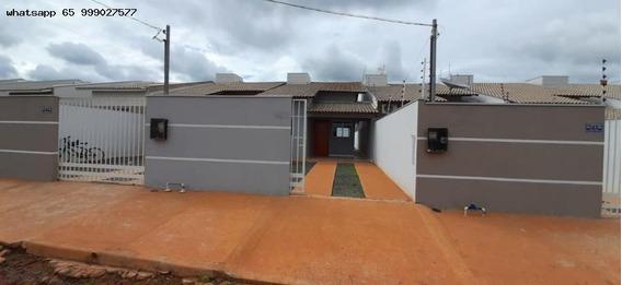 Casa Para Venda Em Várzea Grande, Novo Mundo, 2 Dormitórios, 1 Banheiro, 1 Vaga - 377_1-1347588