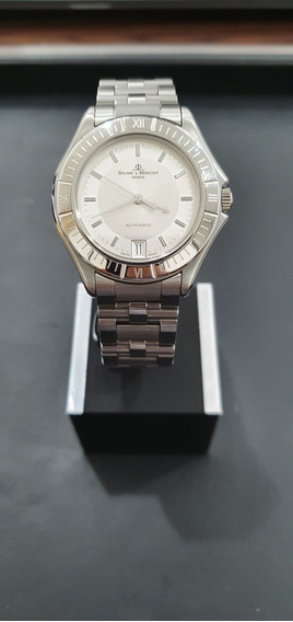 Relógio Suíço Baume Et Mercier Modelo Malibu Aço Automatico