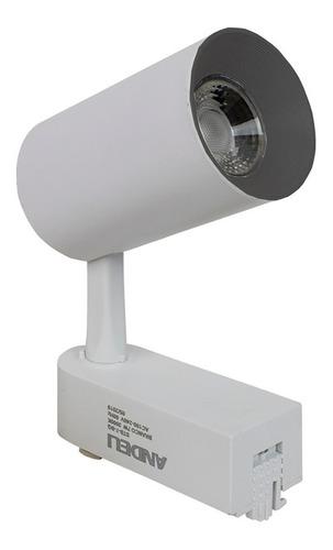 Imagem 1 de 5 de Kit Trilho Eletrificado 1m + 5 Spots Led 7w Frete Grátis