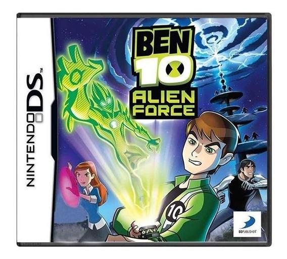 Ben 10 Alien Force Ds Mídia Física Pronta Entrega