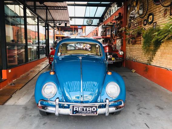 Volkswagen Fusca 1200 1966 Garagem Retrô