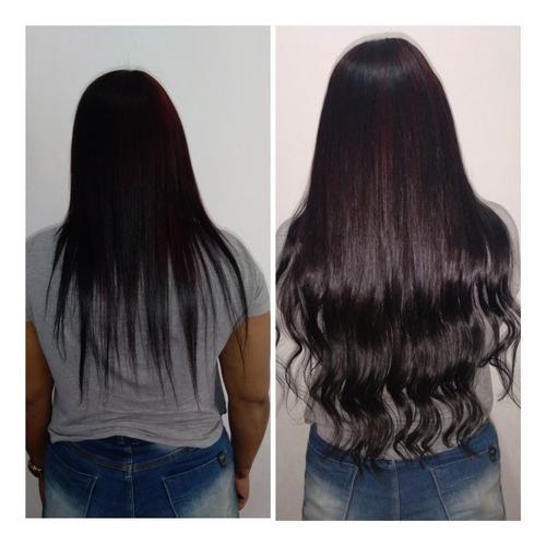 Colocação De Mega Hair Nos Metodos