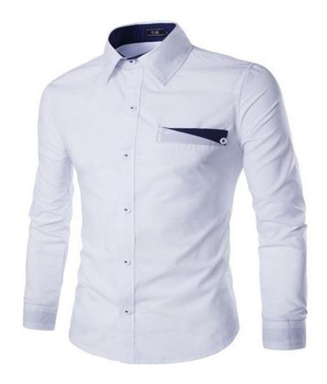 Camisa Social Masculina Slim Fit Noblemen
