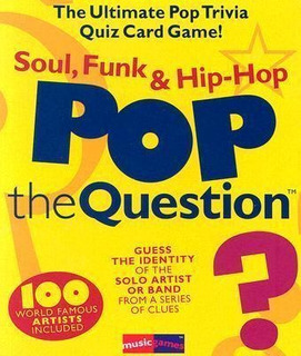 Pop The Question : Soul, Funk & Hip-hop - Music Games