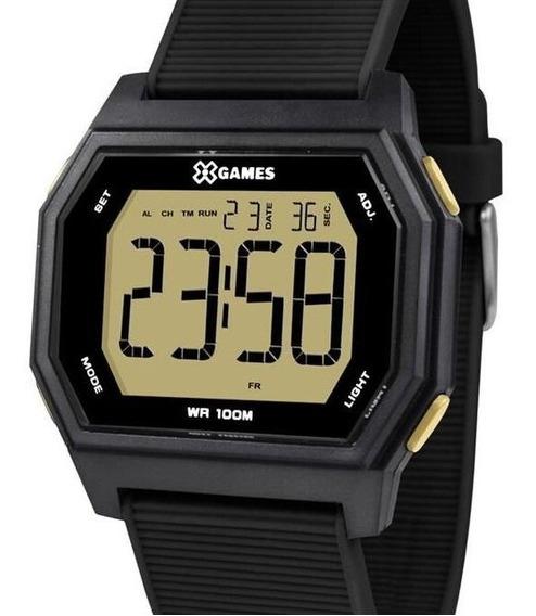 Relógio X-games Masculino Digital Quadrado Original