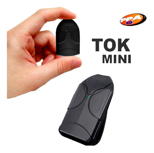 Imagen 1 de 3 de Control Mini Tok Portón Automático Ppa Inalambrico Casa