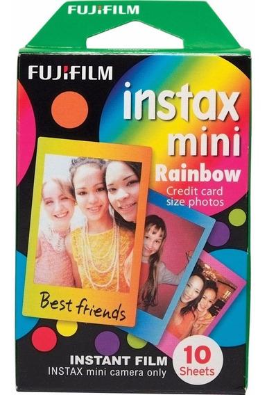 Filme Fujifilm Instantâneo Instax Mini Rainbow - 10 Fotos