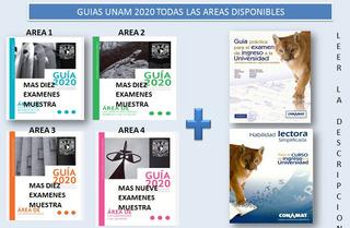Guía Unam 2020 Área 1 2 3 Y 4 + Material Extra