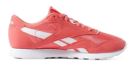 Zapatillas Lifestyle Reebok Cl Nylon Mujer Cn7444 On