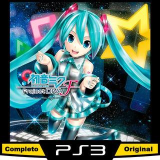 Hatsune Miku Project Diva F Ps3