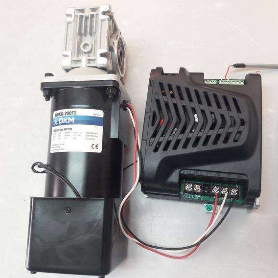 Variador Velocidad Y Motorreductor 1/4 Hp - 110v -120rpm