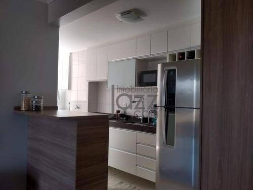 Apartamento Com 2 Dormitórios À Venda, 51 M² Por R$ 212.000,00 - Jardim Das Colinas - Hortolândia/sp - Ap5316