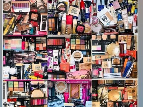Cajas De 50 Maquillaje Importado Nyx Cover Maybelline Usa