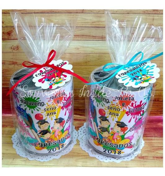 40 Latas Lapiceros Souvenir Personalizado Hd + Envio Gratis