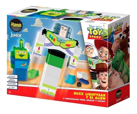 Rasti Junior Toy Story Buzz Y Alien 01-1205