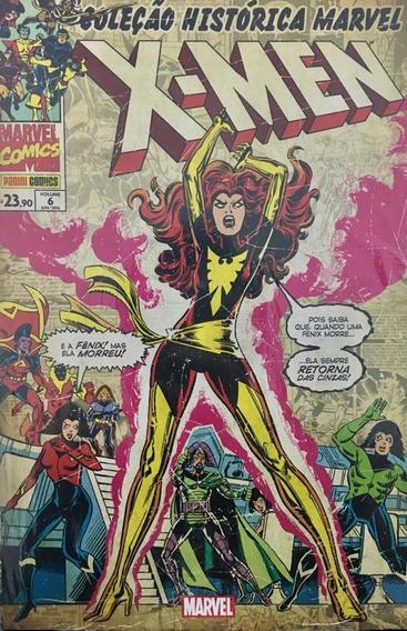 Hq Coleção Histórica Marvel - X-men Vol. 6
