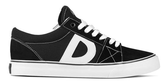 61606- Tenis Drop Dead Classic Preto/branco