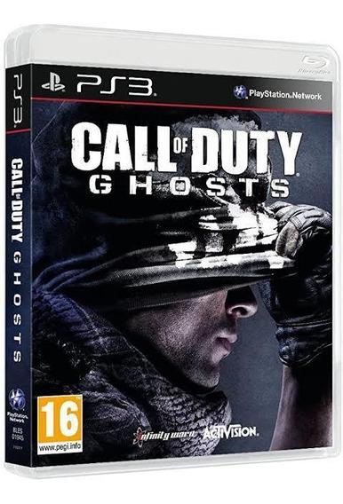 Call Of Duty Ghost Mídia Física Ps3Sgames Bh