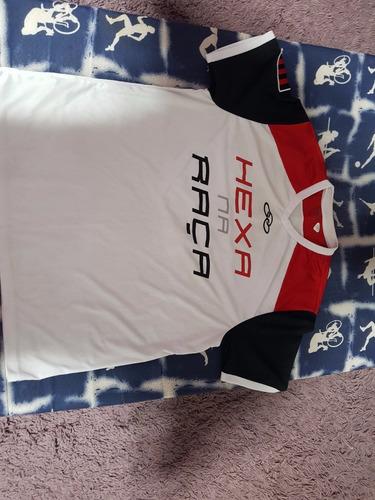 Camiseta Do Flamengo Hexa Na Raça