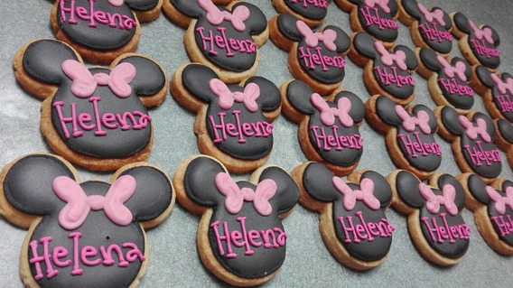 Galletas Decoradas De Minnie Mouse En Mercado Libre México