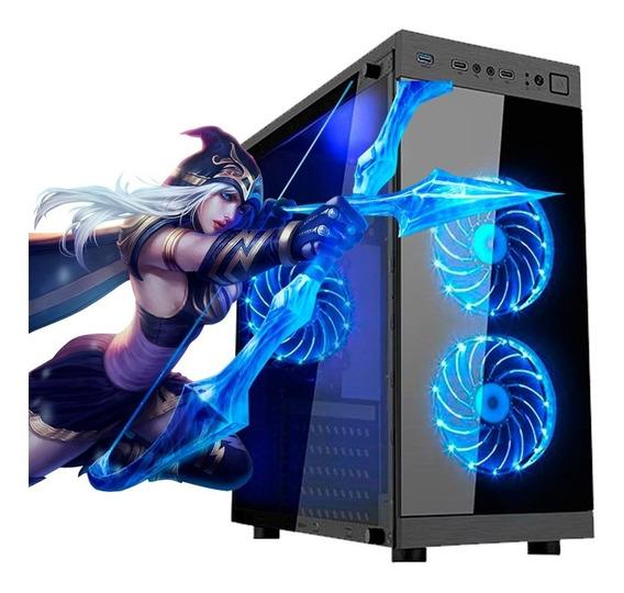 Pc Gamer I7, 16gb Ram,rx 570 8gb,hd Ssd 480gb Frete Gratis