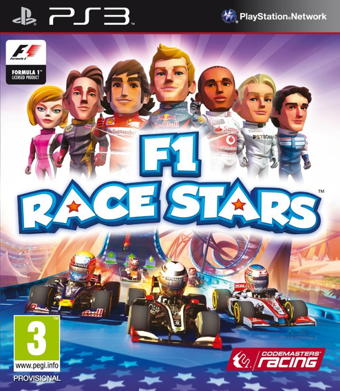 F1 Race Stars Psn Ps3 Digital Pt-br