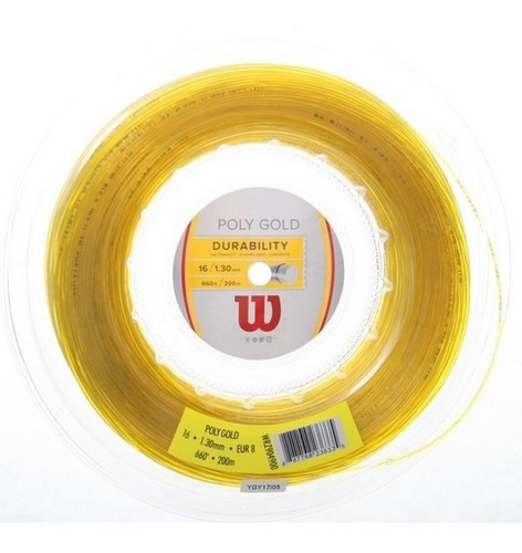 Imagen 1 de 1 de Poly Gold Cuerda Poliester De Wilson