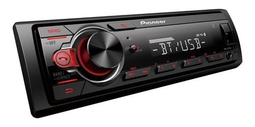Oficial Pioneer Mvh-s215bt Usb Bluetooth Aux Auto Radio
