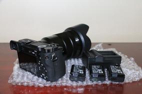 Câmera A6500 Corpo 4k + Lente Sony 18 105mm