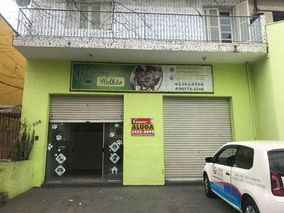 Salão Comercial Para Locação, Jardim Vila Galvão, Guarulhos. - Sl0051