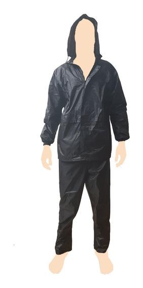 Capa De Chuva Motoqueiro Nylon Com Forro E Capuz - Teem 2035