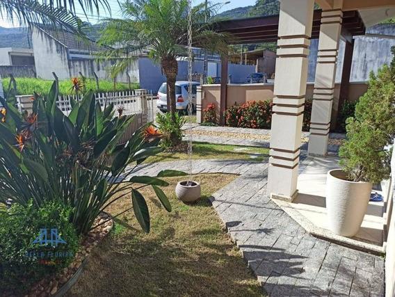 Casa Com 2 Dormitórios À Venda, 100 M² Por R$ 340.000 - São Sebastião - Palhoça/sc - Ca0764
