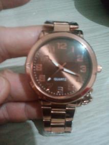Relógio Feminino Rosé Barato