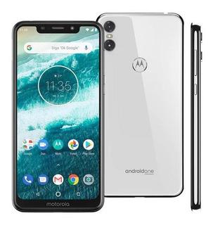 Smartphone Motorola Moto One 64gb, Tela 5.9 , Android 8.1, O