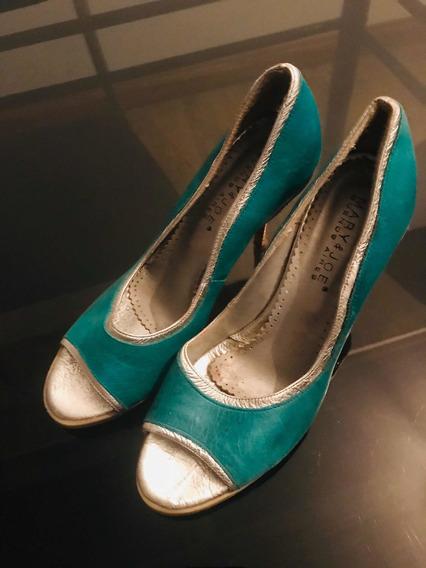 Zapatos Aqua 36 Igual A Nuevos !!!