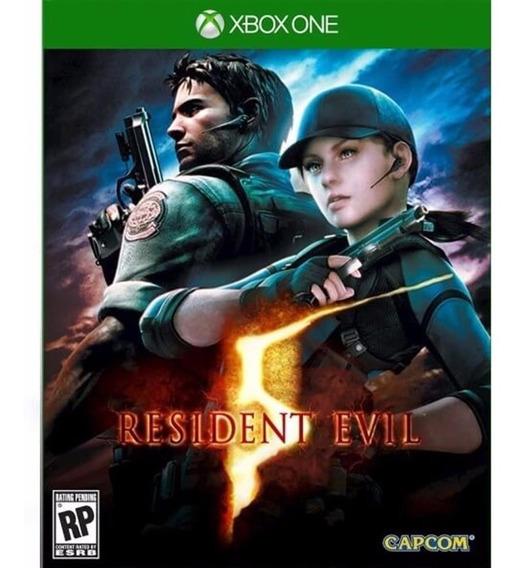 Jogo Midia Fisica Resident Evil 5 Edição Definitiva Xbox One
