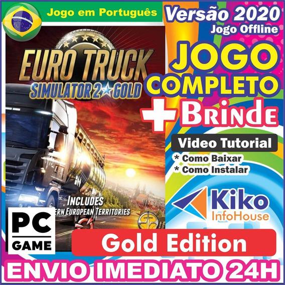Euro Truck Simulator 2 Gold Edition Pc Digital Br + Brinde