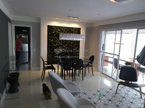 Imagem 1 de 15 de Apto 150 M² À Venda -home Clube Itapety - Mogi Das Cruzes - Apartamento A Venda No Bairro Vila Nova Socorro - Mogi Das Cruzes, Sp - Sc01210