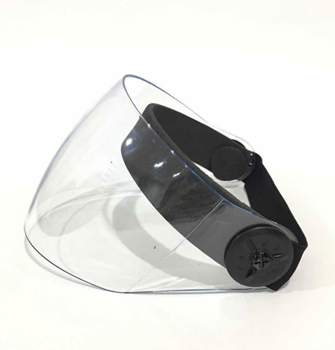 Máscara Facial Antifluidos Acrílico Abatible Careta Acrilica