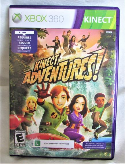 Jogo Kinect Adventures Mídia Física Xbox360