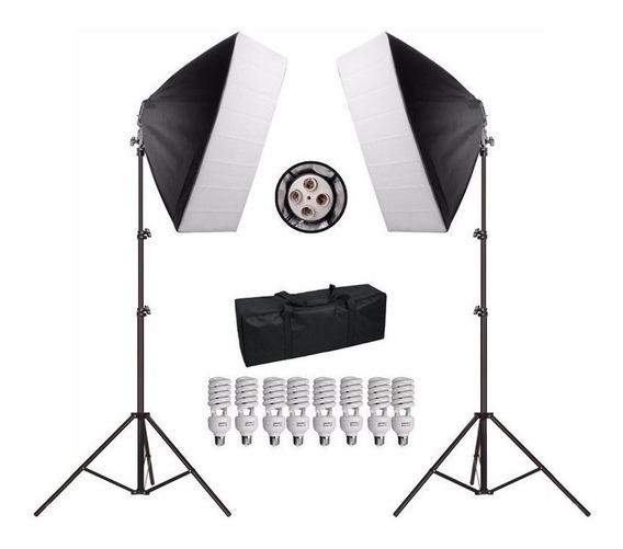 Kit Iluminação 50x70 1080w Soquete E27 Lampadas Bolsa