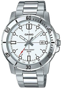 Relógio Casio Masculino Prata Mtp-vd01d-7evudf-br