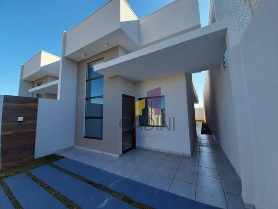 Casa À Venda - Jardim Veredas - Cascavel/pr - Ca0379