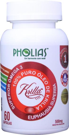 Krilla 500 Mg Com 60 Cápsulas Friend Of The Sea - Pholias